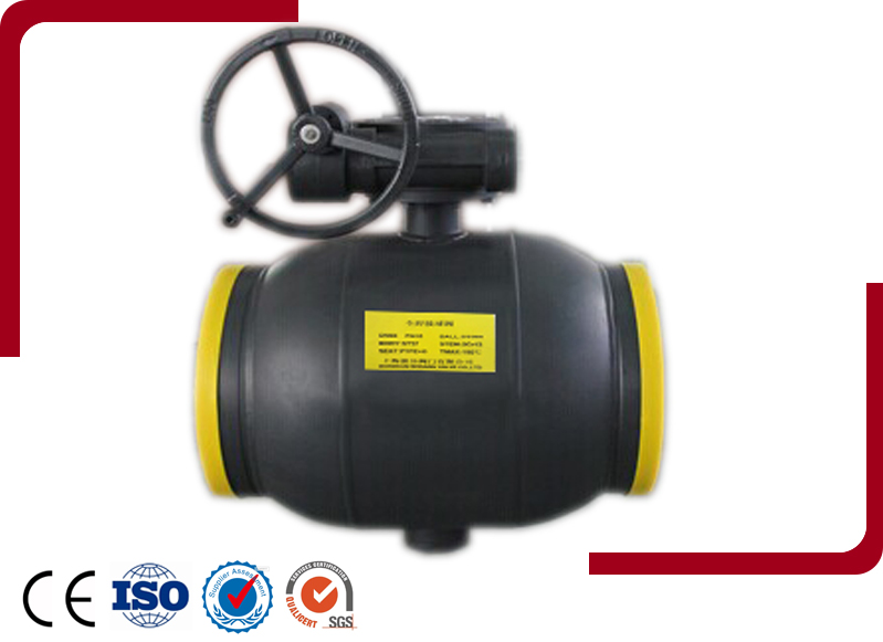 Fully Welded Ball Valve