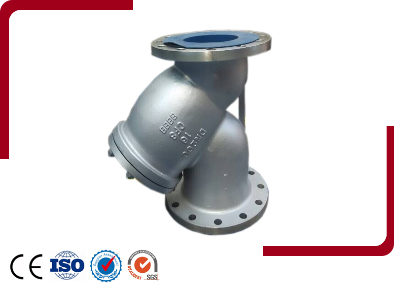 Stainless Steel CF8 Y-Strainer