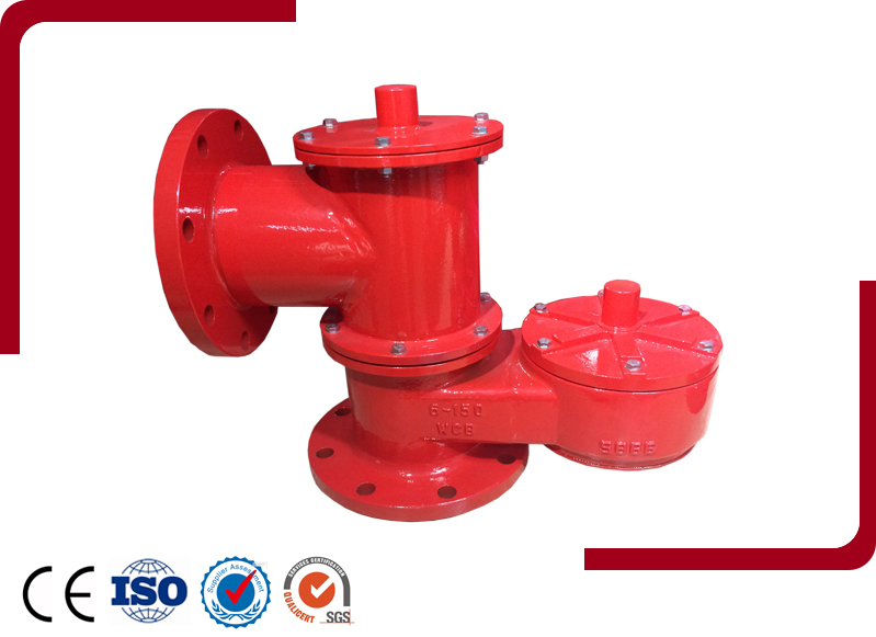 PRP Pressure Vacuum Breather Valve Piped Away