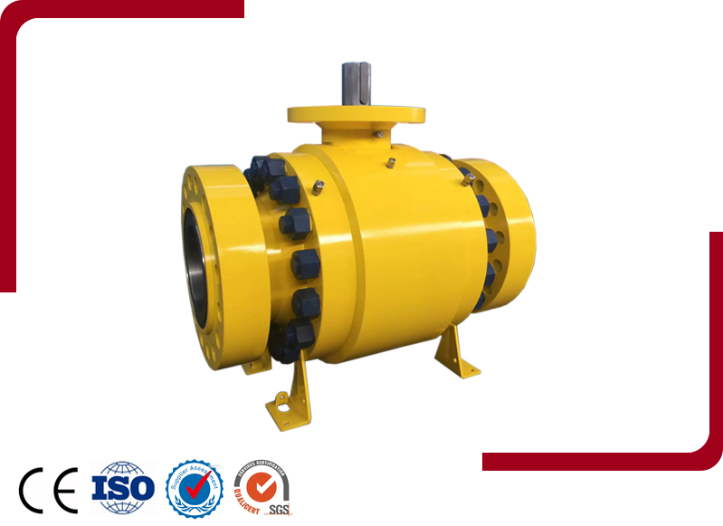 Forged Steel Trunnion Ball Valve